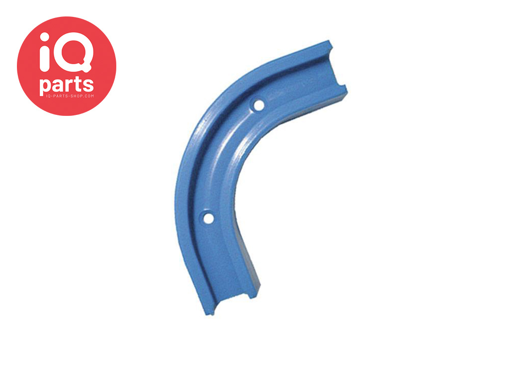 Hose clamp clip elbow