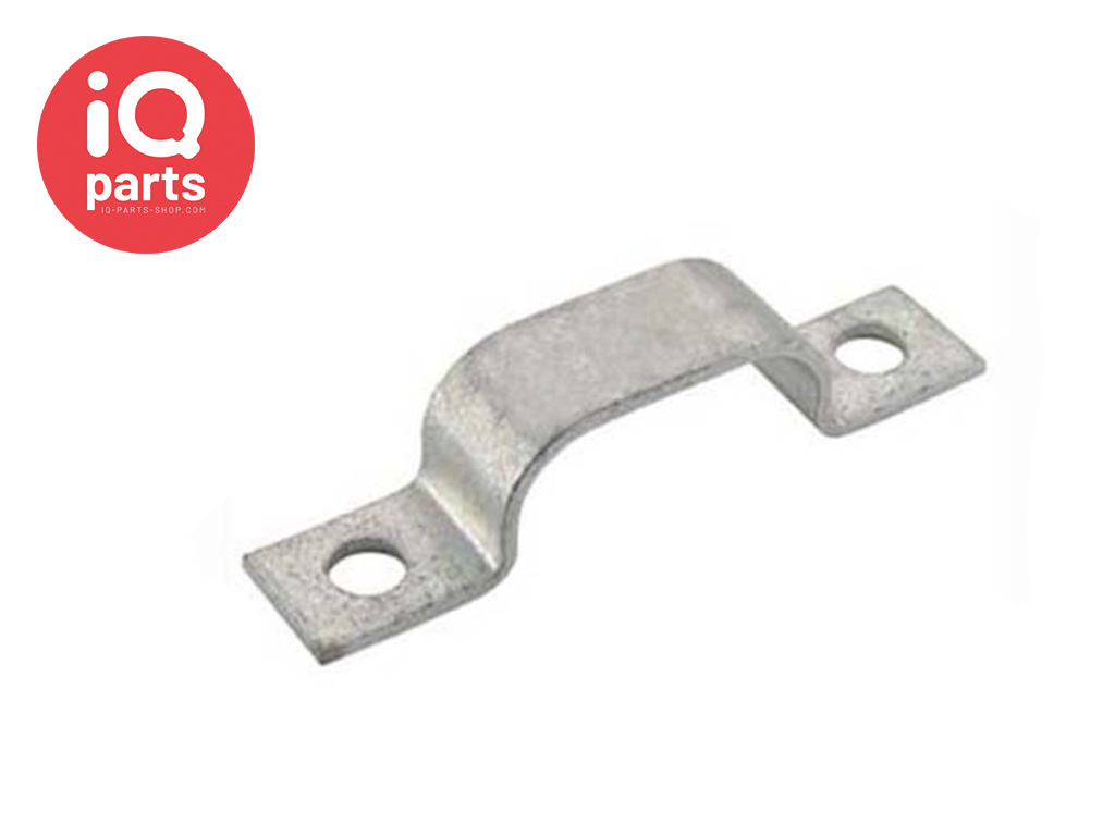 Normafix Pipe Fixing clips BSL Model 512 - W1 - for 2 Lines