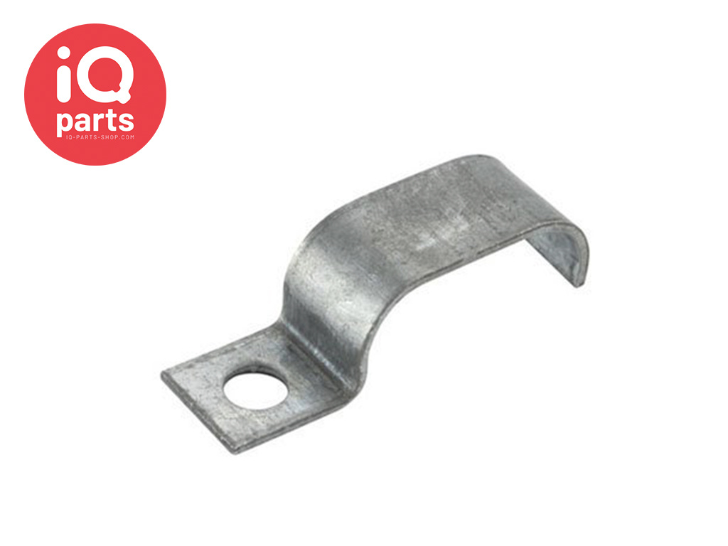 Normafix Pipe Fixing clips BSL Model 510 - W1 - for 2 Lines
