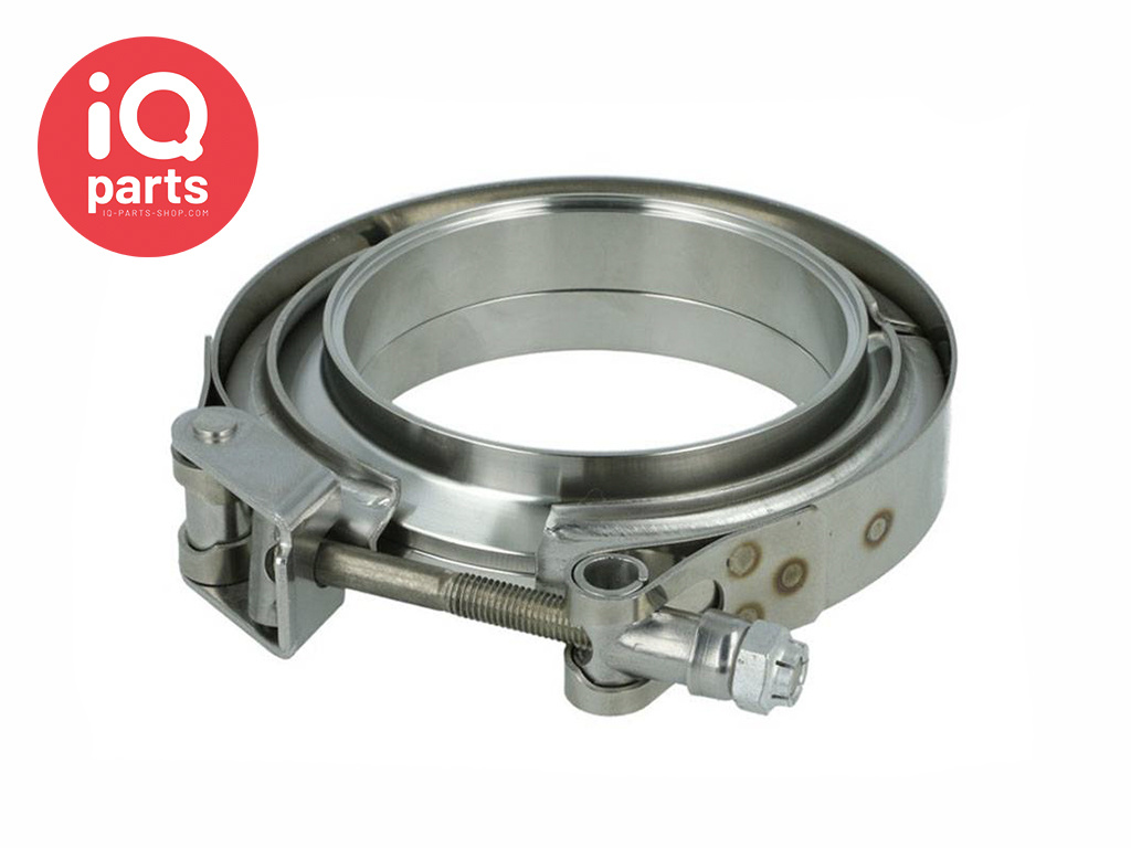V-band clamps set Stainless Steel SS304