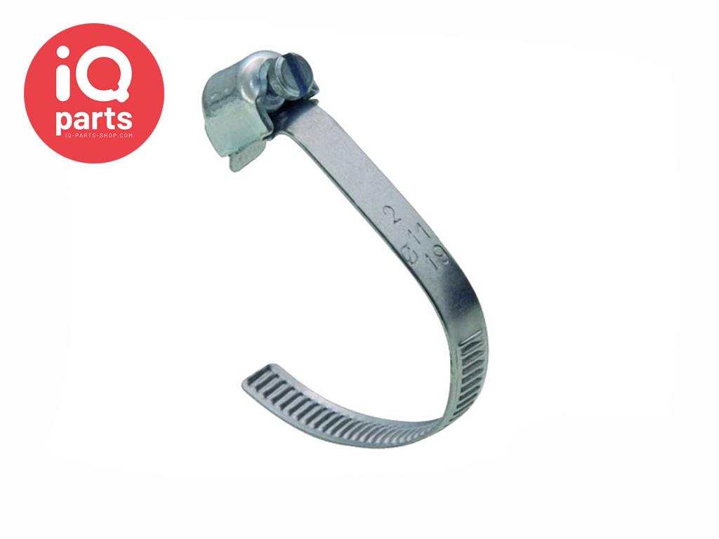 Open worm-drive clip W2 - 5 mm