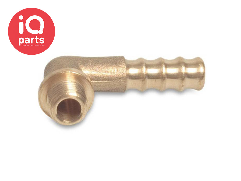 Brass Elbow Hose Connector 90 degrees