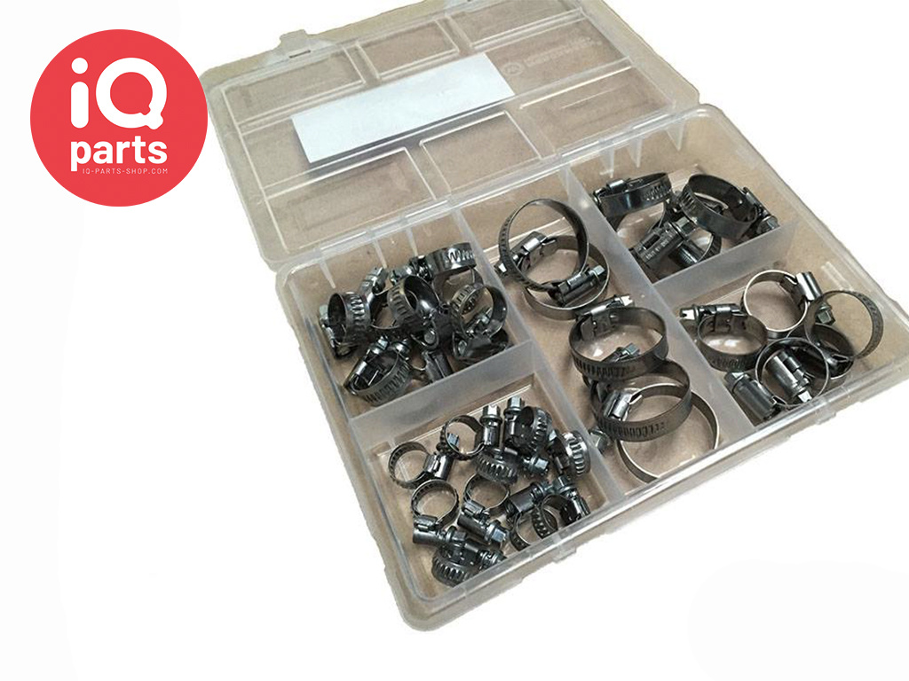 Assortment boxes ASFA-L Hose Clamps | 9 mm | W2