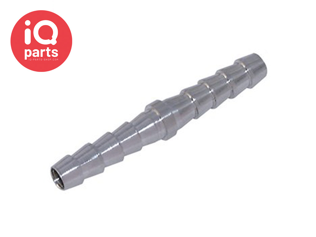 Hose connector straight AISI316 (W5)