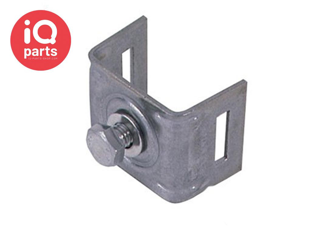 Schilderhalter mit geraden Schenkeln H001 - AISI 304