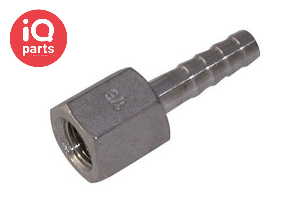 Stainless Steel AISI 316 Hose Connector female thread