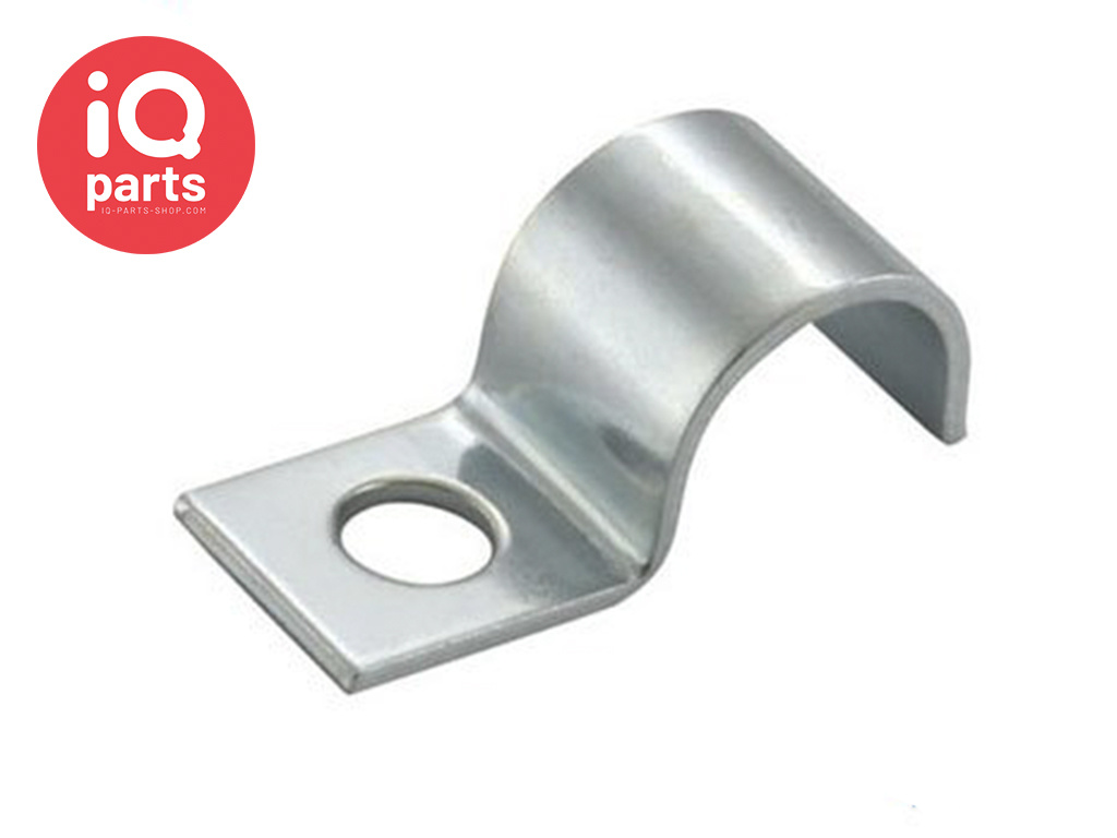 Normafix Pipe Fixing clips BSL Model 510 - W1 - for 1 Line