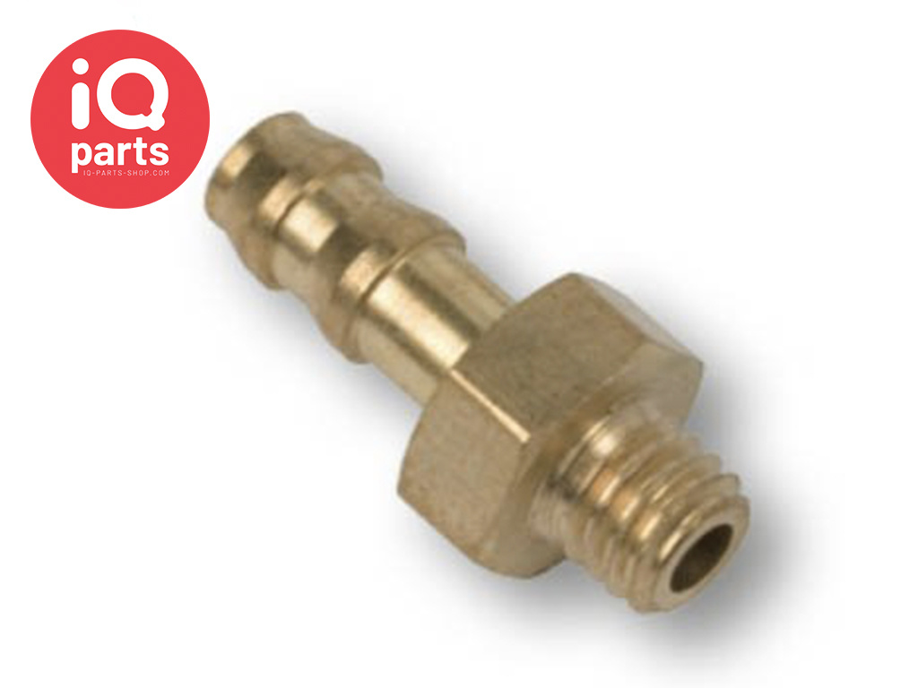 Brass Hose Connector M5