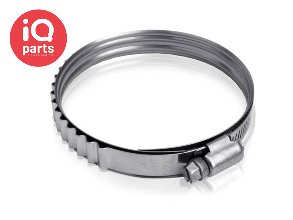 Constant Tension SAE Type Hose Clamp | W4 (AISI 304)
