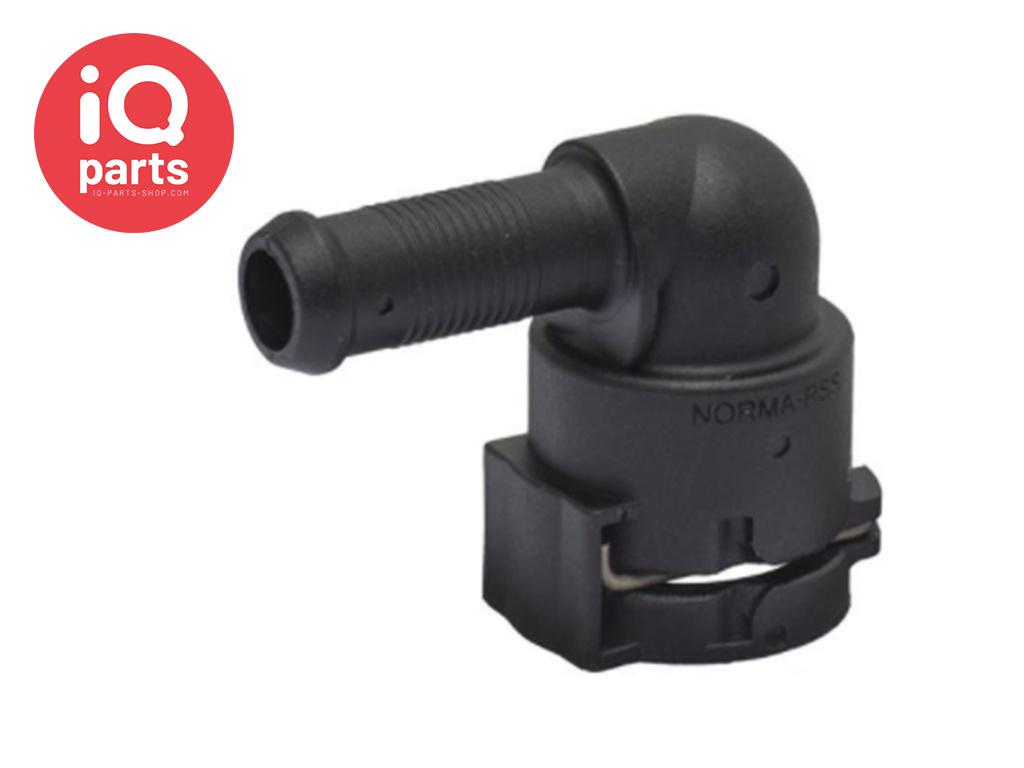 NORMAQUICK® PS3 Snelkoppeling 90° NW 06 - 10 mm
