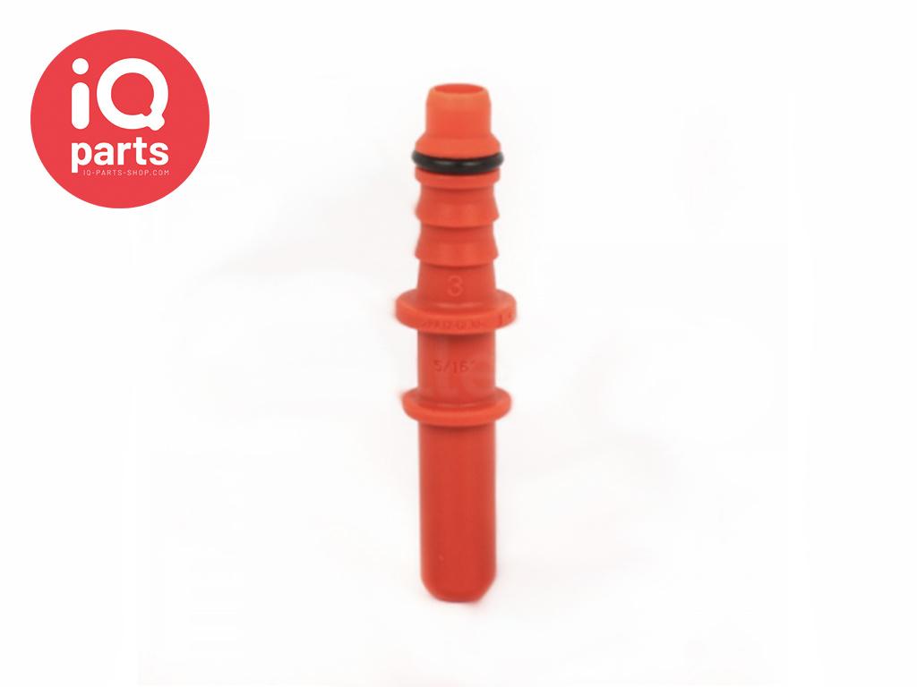 """NORMAQUICK® S Adapterstuk 0° NW 5/16"""" - 6 mm"""