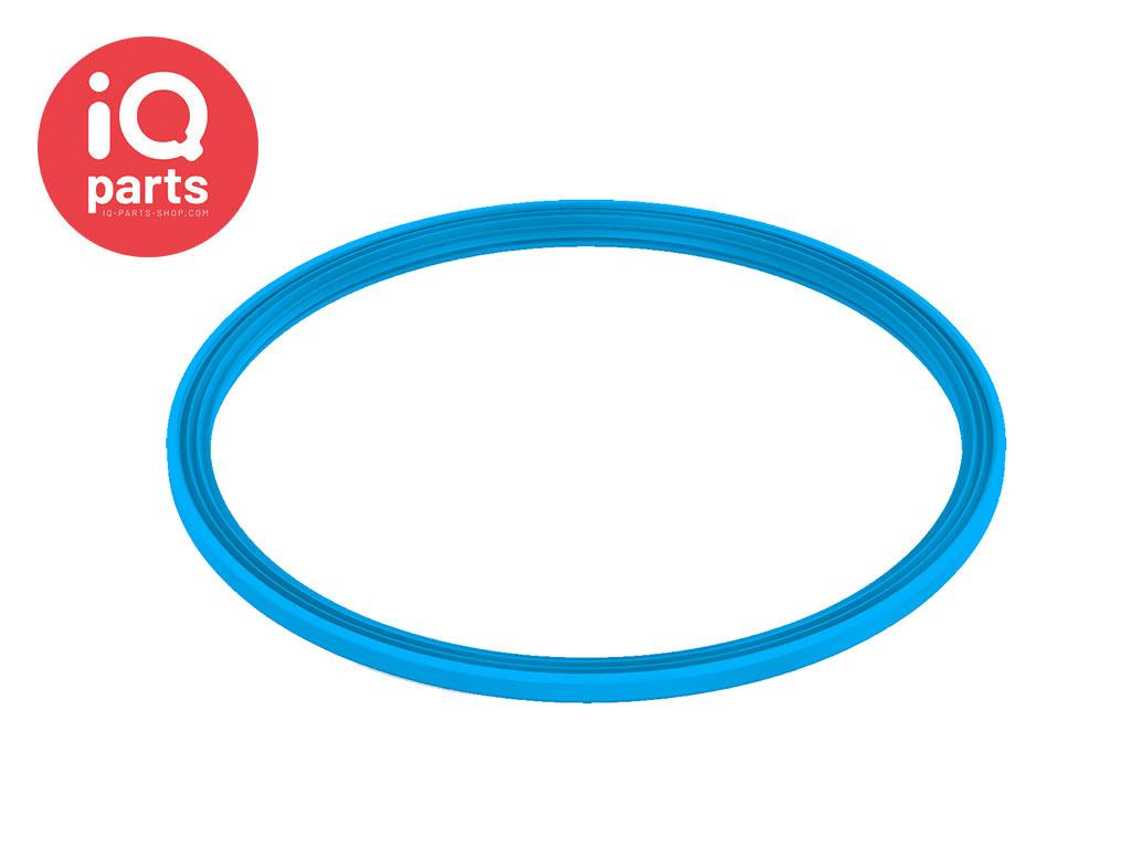 Spannring Dichtung Silikon Blau 2 mm