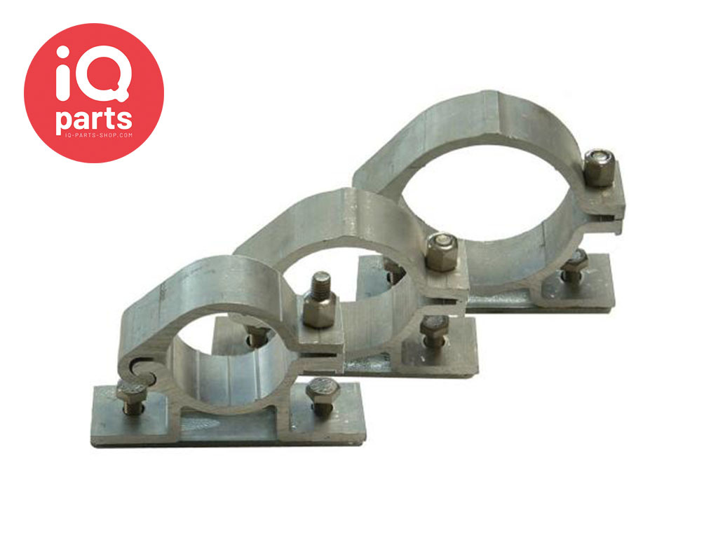 IQ-Parts Traffic sign Bracket Aluminium Single sign, with clamping plate 82 mm