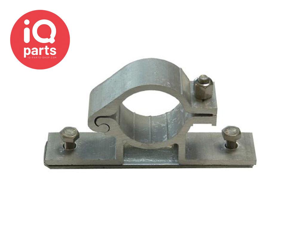 IQ-Parts Verkehrsschild Lasche Aluminium einseitig, Ø 48,3 mm, mit 2 verschiedenen Klemmlängen