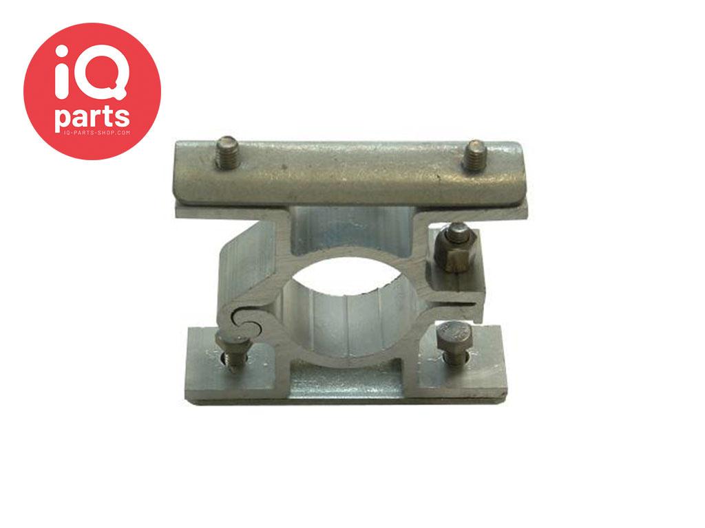 IQ-Parts Verkeersbordbeugel Aluminium dubbelzijdig, met klemplaat 82 mm