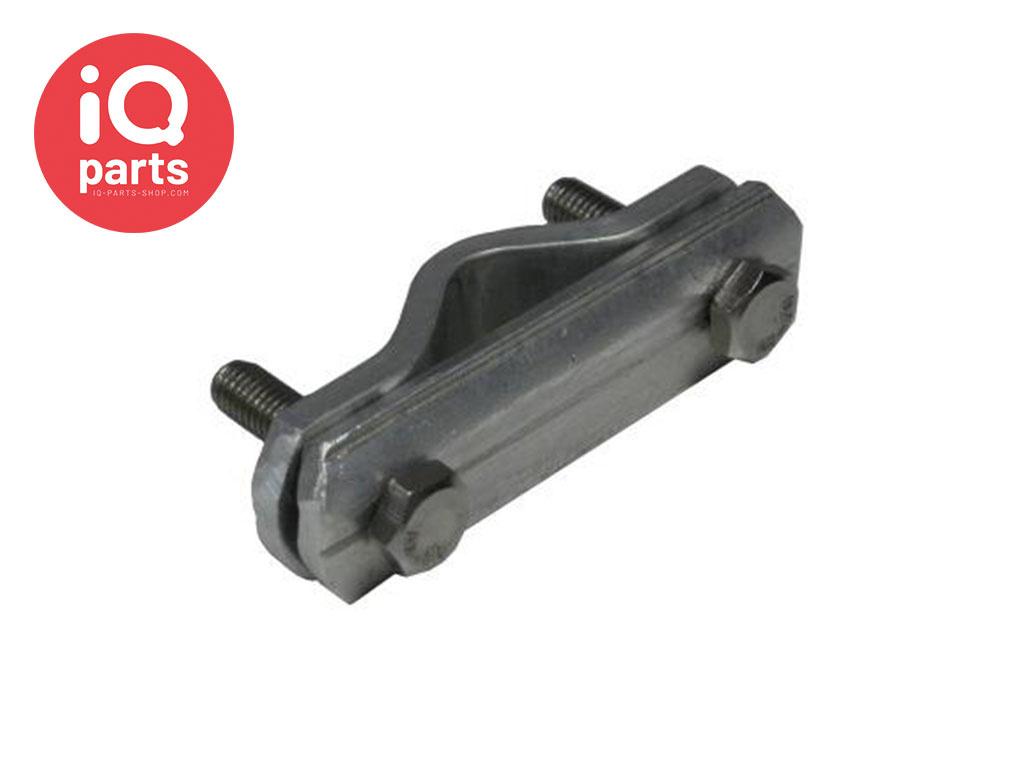 IQ-Parts Zaunhalterung / Absperrgitterhalterung Aluminium