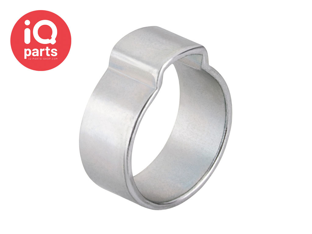 1-Ohr-Klemme W1 (Stahl glanzverzinkt)