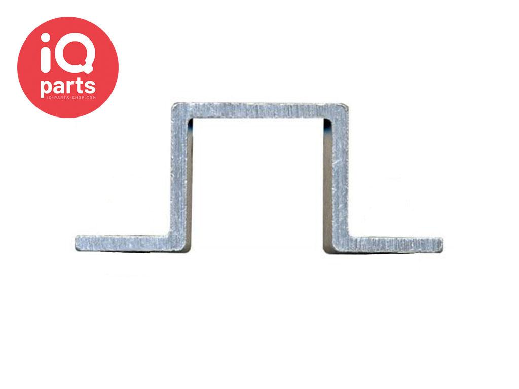 IQ-Parts Traffic sign Bracket Square, Aluminium Belgian Type 250 - 40 x 40 mm