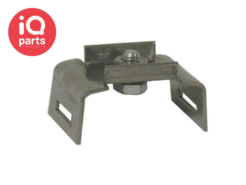 IQ-Parts Traffic sign Banding Bracket Steel W4, including bolt and nut