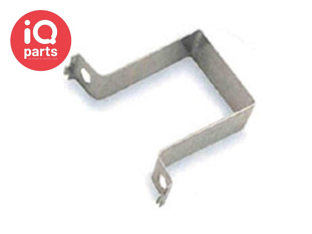 Verkehrsschild Speedclip Lasche Quadrat Stahl W4