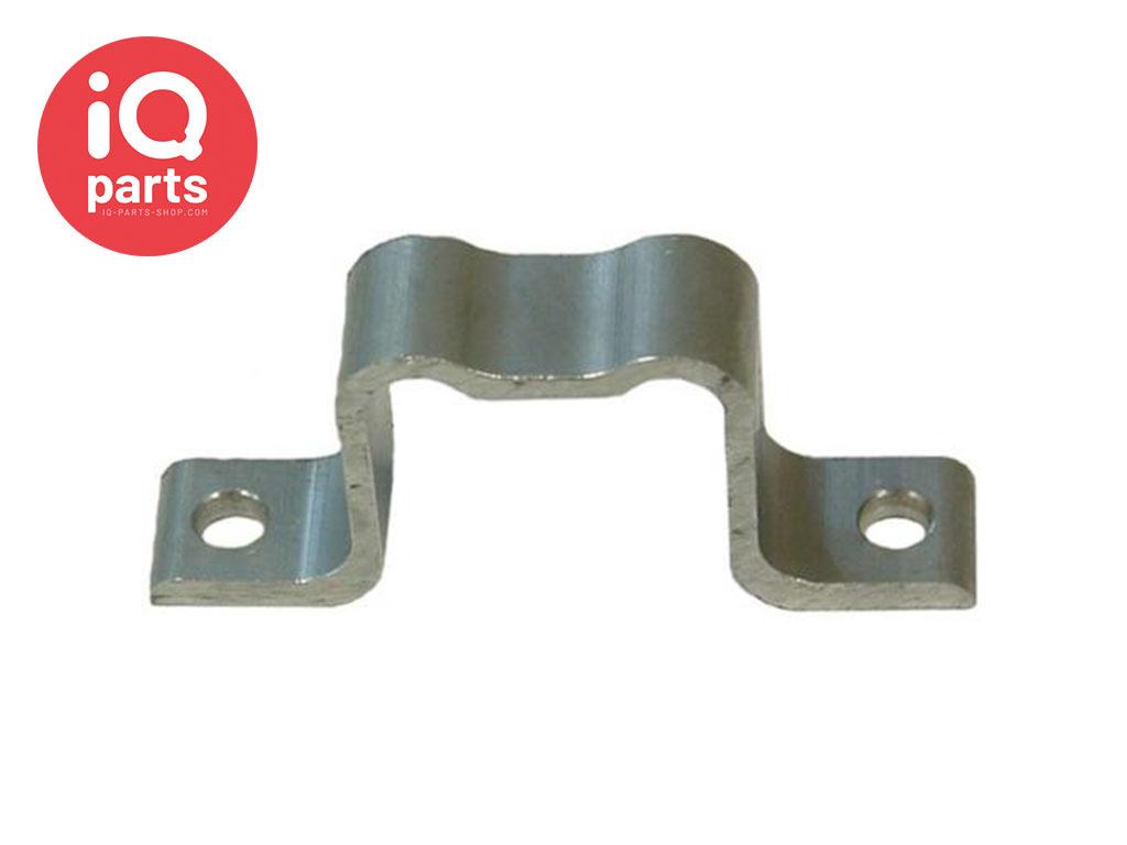 IQ-Parts Verkehrsschild Lasche Aluminium Französisch Typ Bride 40 x 40 mm