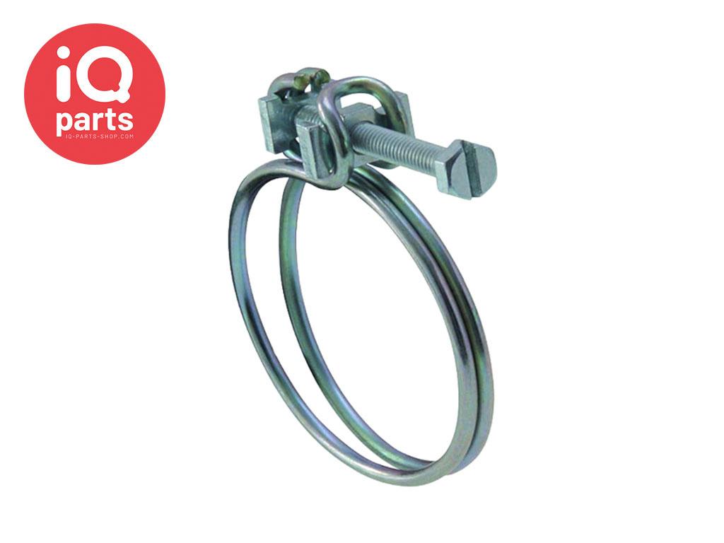 Wire Clip with screw galvanized steel W1