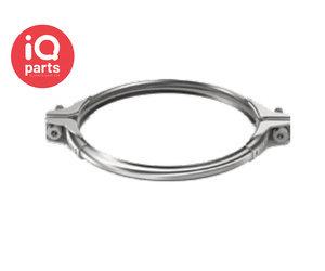 Pendulum Tube Hanging Pipe with Ring Nickel Plated 120mm Ring Diameter 30mm