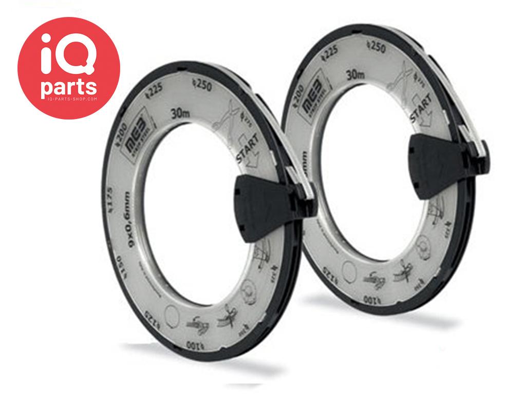 Veryflex Endlose Schlauchschellen - Breite 9 mm W2 (AISI 430)