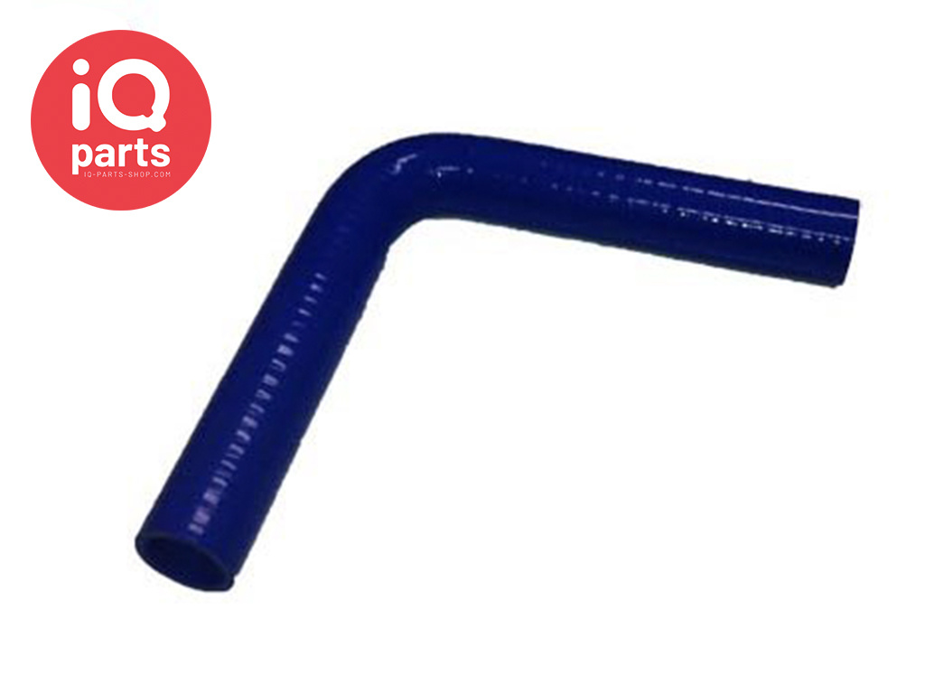 Silicone slang bocht 90º pootlengte 102 mm