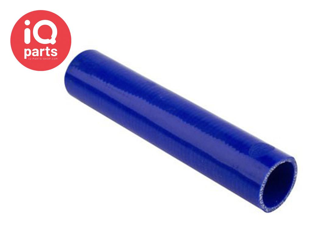 Silicone slang rechte lengte (Polyester geweven)
