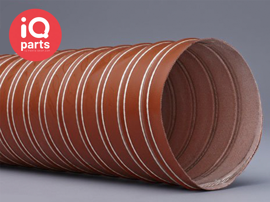 Silicone ducting 2-ply