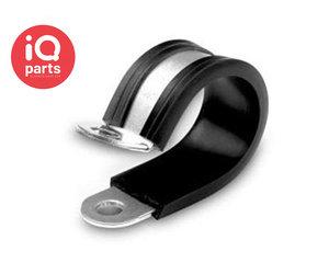 norma CLIPS ABRAZADERAS /& Plástico 8 RSGUP NOR 08MM OD tubo Clip P M//Acero 15MM Banda