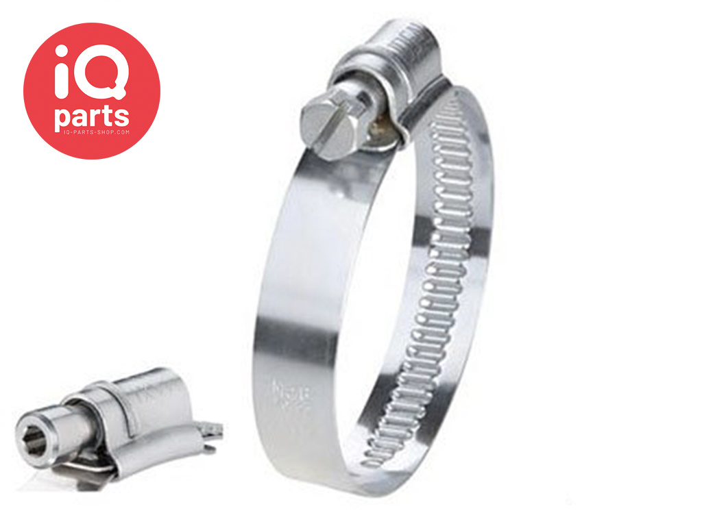 Maxi W5 - 20 mm wide Heavy-Duty hose clamp