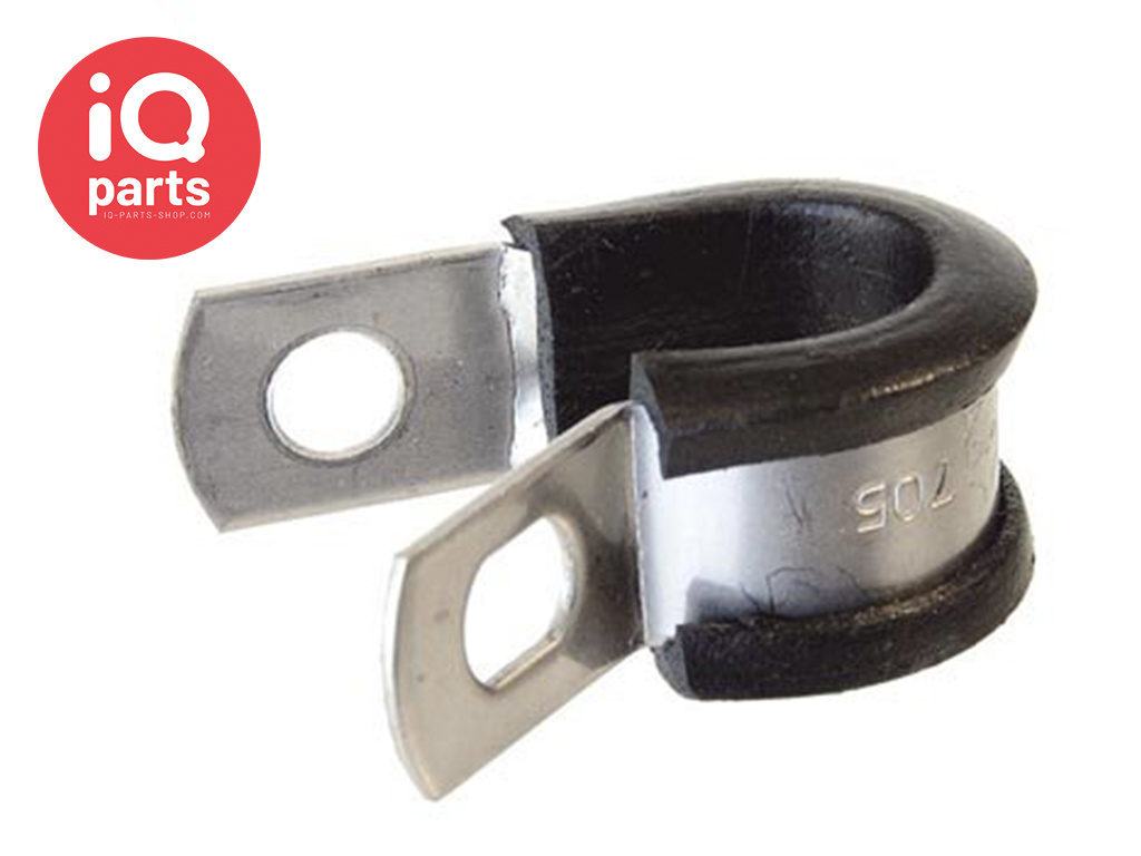 P-Clip 12 mm width W5 (AISI 316) - SMS