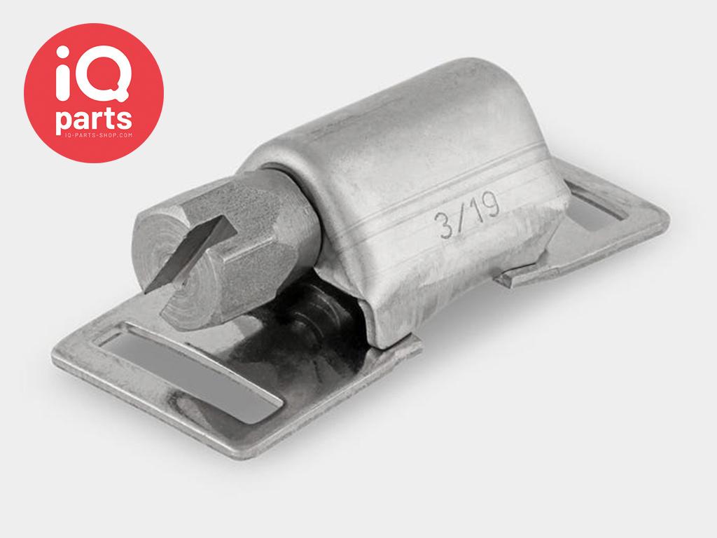 Serflex Serfex Wormschroefhuisjes voor Eindloze slangklem 8 mm  - W4 (RVS304)