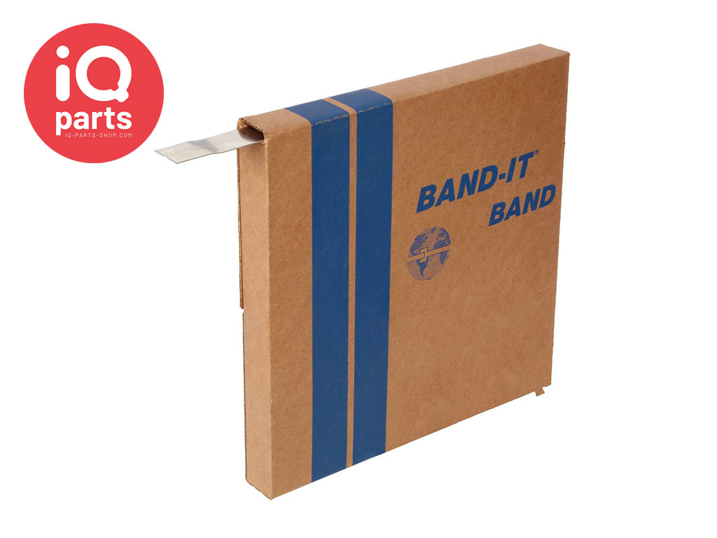 BAND-IT BAND-IT® VALUBAND AISI 200/300 Stainless Steel Band, extra thick