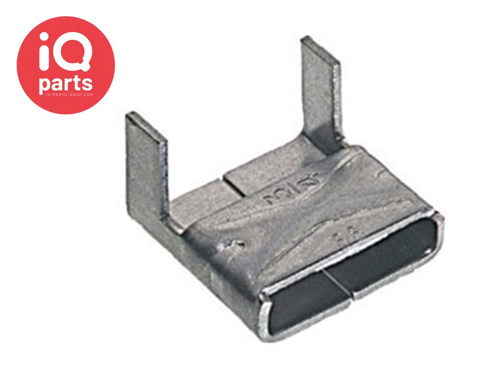 VALUCLIP Roestvrijstalen Klemplaat/Buckles 200/300 RVS