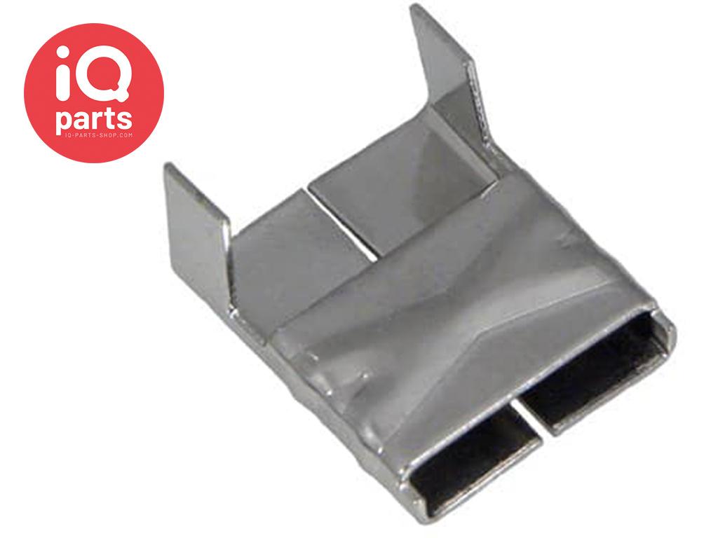 Roestvrijstalen Klemplaat/Clip 200/300 RVS