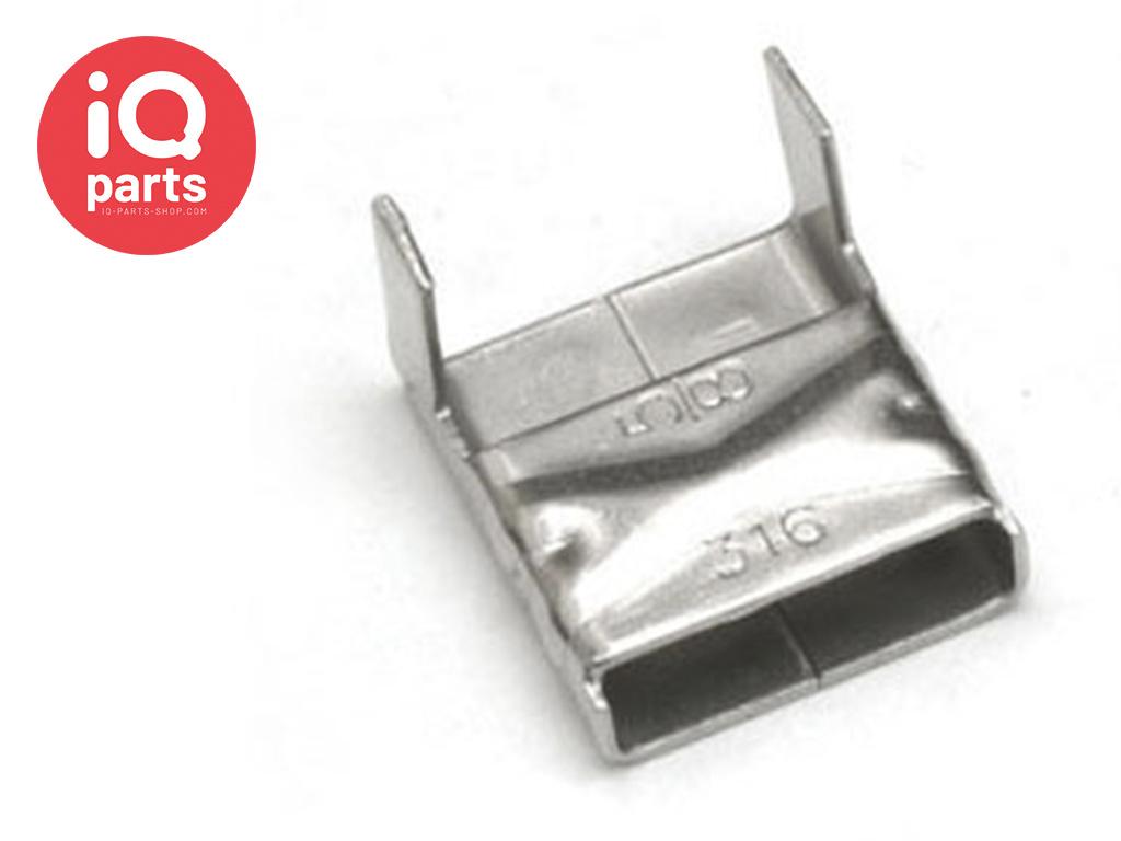 Edelstahl Schlaufen Clip Style AISI 316 - W5