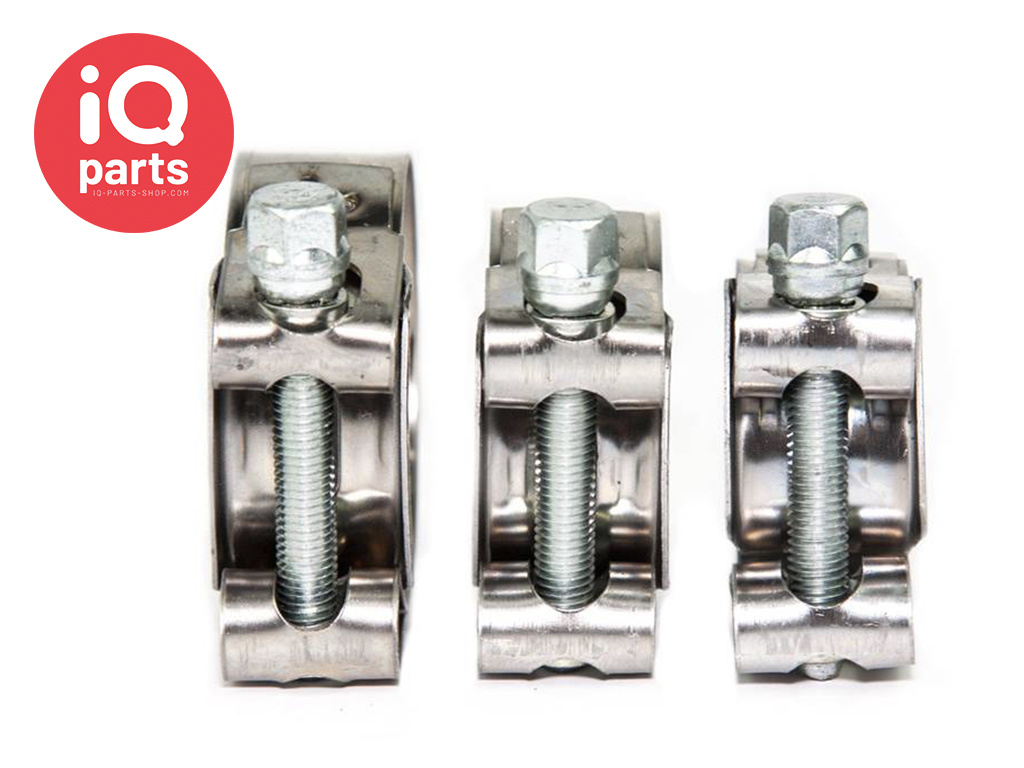 47mm 6 x Mikalor Stainless Steel Coolant//Exhaust Clamps//Clips Supra 43mm