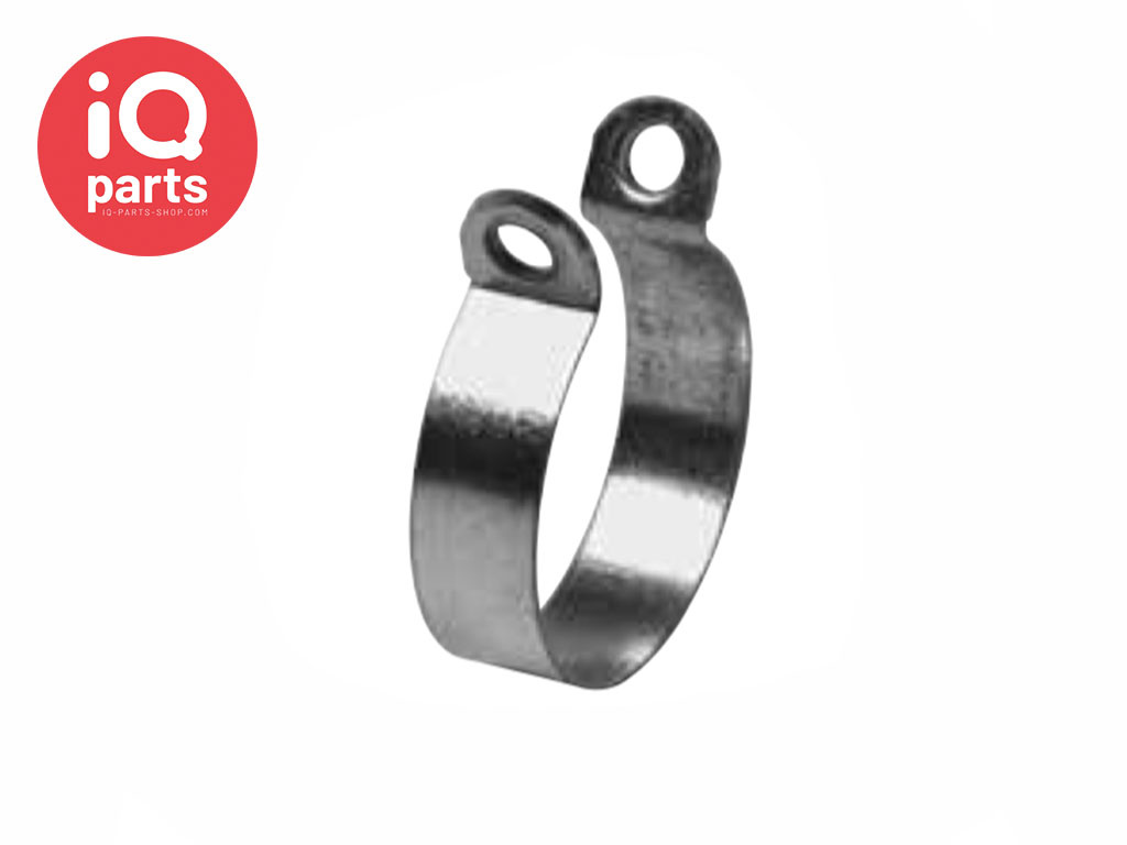 Rohrschelle RS 0 | 12 mm - W5 - AISI 316 - DIN 3016