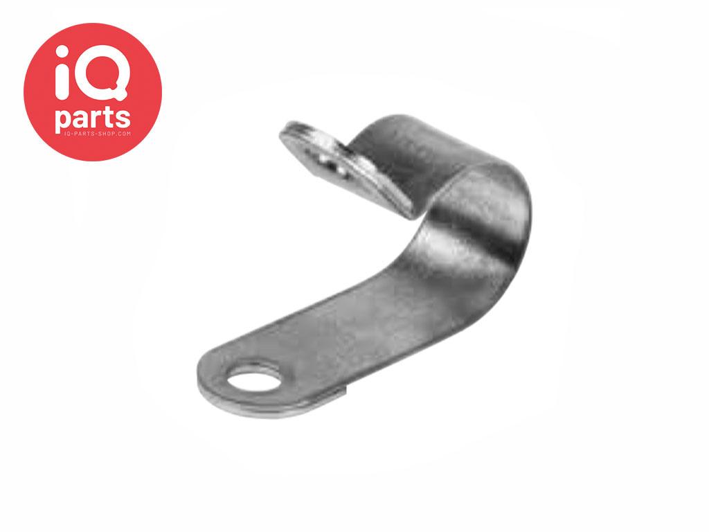 Rohrschelle RS 1 | 15 mm - W5 - AISI 316 - DIN 3016