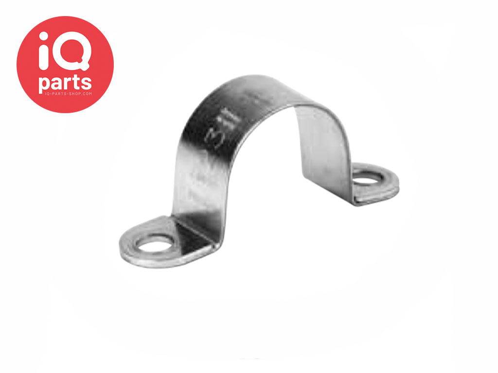 Rohrschelle RS 2 | 15 mm - W5 - AISI 316 - DIN 3016