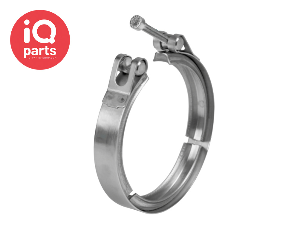 V-Profile clamps - ø = 190 mm - 20 mm - R1 - W4