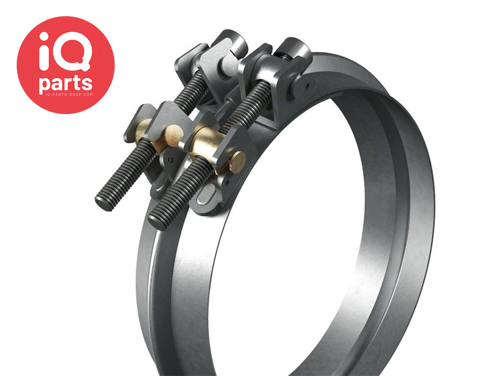 Wide-band Beaded Clamping Ring - W1
