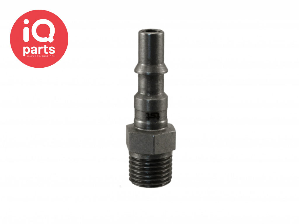 Safety Swing Couplings Plug -  BSP male thread SC Series K DN06