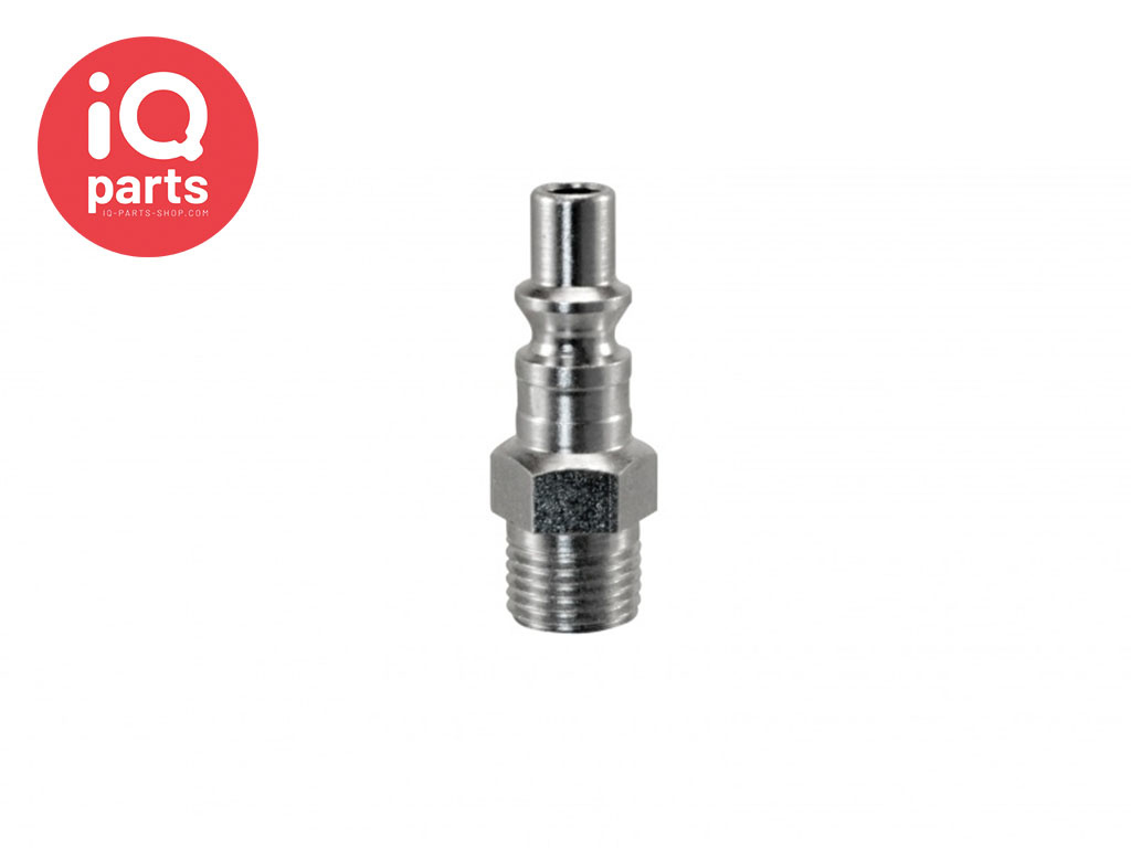 Safety Swing Couplings Plug -  BSP male thread SC Series A1 DN06
