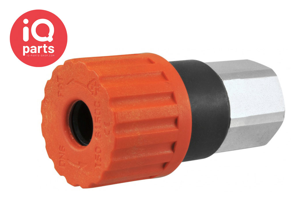 Safety Quick coupling BSP Female thread SV2 Series DN06