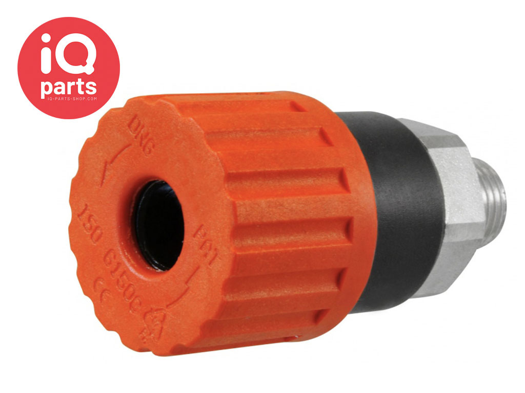 Safety Quick coupling BSP Male thread SV2 Series DN06