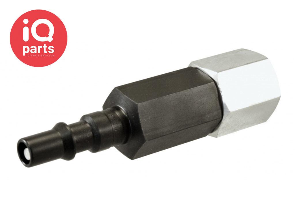 BSP Female thread plug with Valve SV2 Series DN06